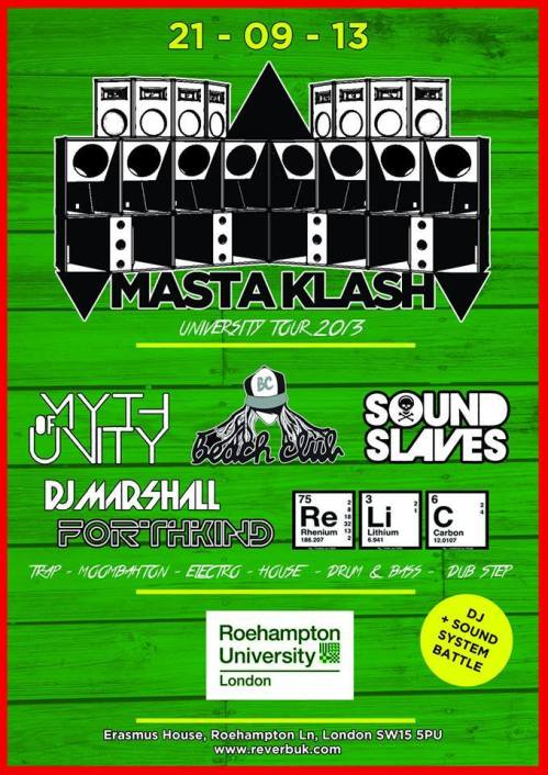Mastklash - Roehampton University London